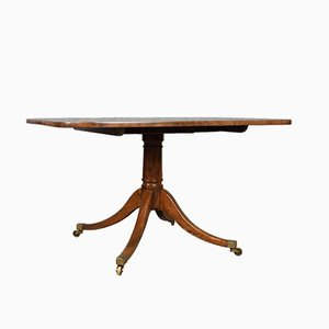 Antique Regency Mahogany Tilt-Top Breakfast Table, 1820s