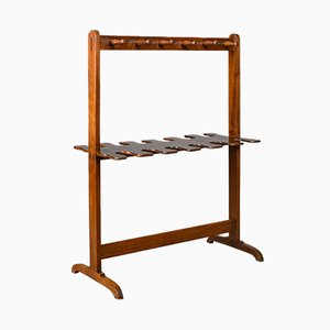 Antique Welsh Mahogany Rack