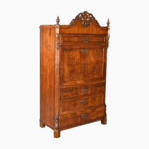 Antique French Oak Bureau Desk, 1870s