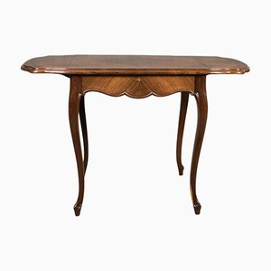 French Kingwood Drop-Flap Occasional Table, 1880s