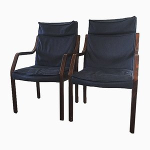 Mid-Century Armchairs by Rudolf Glatzel for Walter Knoll, 1987, Set of 2