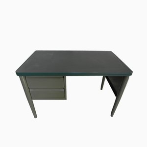 Vintage Steel Writing Desk, 1960s