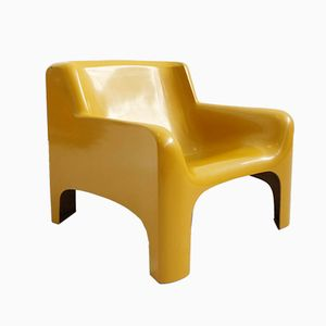 Mid-Century Gaia Stuhl von Carlo Bartoli für Arflex