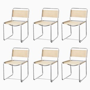 Model SE18 Dining Chairs by Claire Bataille & Paul Ibens for 't Spectrum, 1971, Set of 6