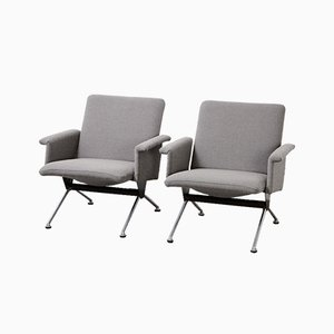 Model 1432 Lounge Chairs by André Cordemeyer for Gispen, 1961, Set of 2
