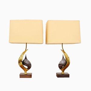 Lampade da tavolo vintage di Willy Daro, anni '70, set di 2