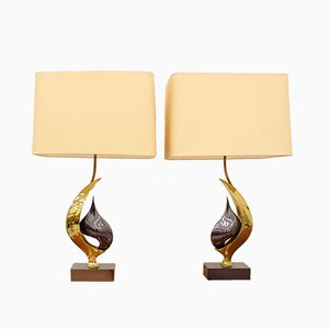 Vintage Table Lamps by Willy Daro, 1970s, Set of 2