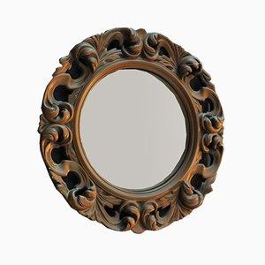 Miroir Convexe en Plâtre et Verre, 1960s