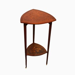 Art Nouveau Mahogany Side Table, 1900s