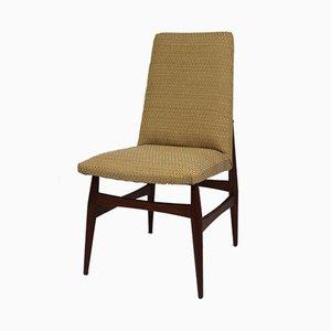 Skandinavischer Stuhl mit Gestell aus rotem Teak, 1960er