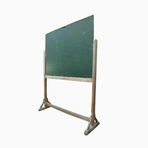 Vintage School Board in Wooden Frame, 1930s