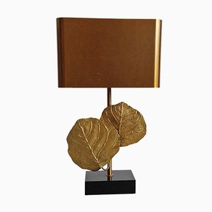 Clèa Leaf Table Lamp from Maison Charles, 1970s