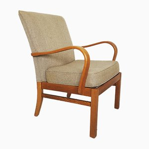 Model No. 714 Bentwood Lounge Chair from Parker Knoll, 1960s