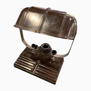 Amerikanische Vintage Lampe aus Bakelit mit Tintenfass von Atlas Appliance