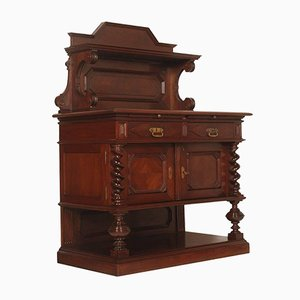 Late 19th Century Renaissance Style Chestnut Carved Buffet