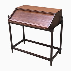 Italian Roll Top Desk from Fratelli Proserpio, 1960s