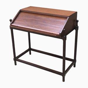 Italienischer Schreibtisch mit Rolltür von Fratelli Proserpio, 1960er