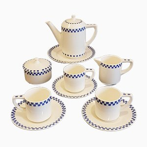 Antique Tea Set by Joseph Maria Olbrich for Wächtersbach