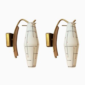 Italian Sconces, 1960s, Set of 2