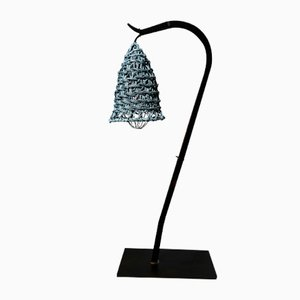 Black Nasse Double Bedside Lamp by BEST BEFORE