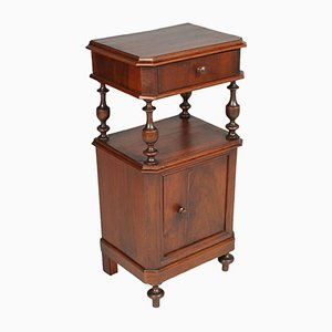 19th-Century Italian Walnut Nightstand