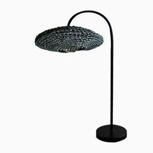 Black Frisbee Table Lamp by BEST BEFORE