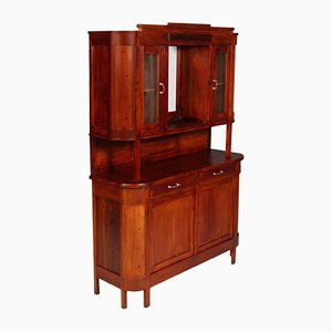 Antique Rustic Sideboard Display Cabinet from Cucchi & Sola Ammobigliamenti, 1910s