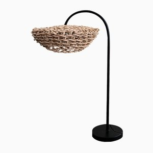Natural Frisbee Table Lamp by BEST BEFORE