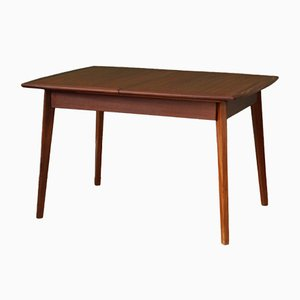 Mid-Century Dutch Extendable Dining Table by Louis van Teeffelen
