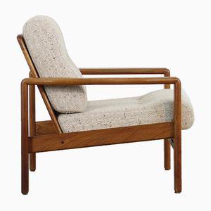 Vintage Sessel mit Gestell aus Teak, 1960er
