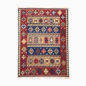 Indischer Vintage Kelim Teppich, 1970er