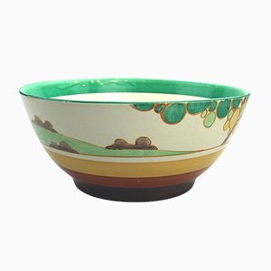 Vintage Bizarre Fantasque Secrets Bowl by Clarice Cliff for Newport Pottery, 1934