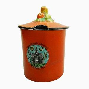 Pot Preserve Vintage de Carlton Ware, Royaume-Uni, 1920s