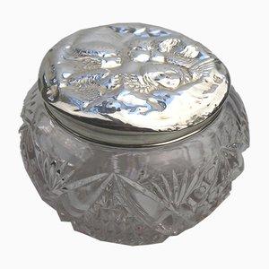 Antike Dose aus massivem Silber von Reynolds, 1905