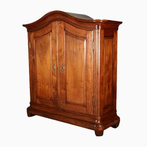 Antique Swiss Walnut Wardrobe, 1780s