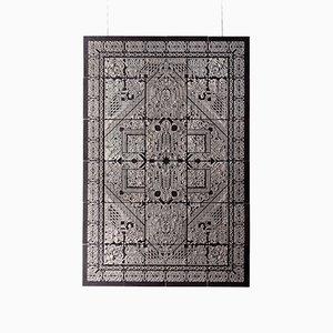 Mittelgroße Neo-Stucco Wandtafel von Talia Mukmel