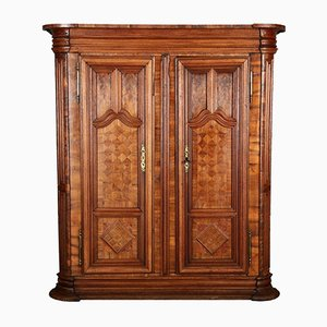 Antique Patinated Baroque Cabinet