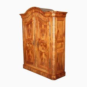 Mobiletto barocco antico in legno di noce