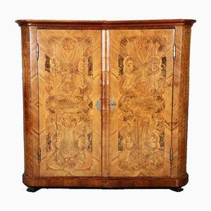 Austrian Baroque Walnut Cabinet