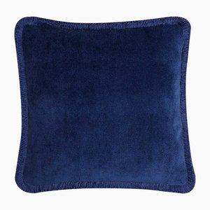 Cojín Happy Pillow en azul de Lo Decor