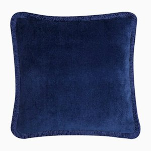 Happy Pillow in Blue Night from Lo Decor
