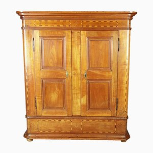 Antique 18th Century German Cherrywood Wardrobe