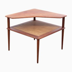 Tavolino Minerva vintage di Peter Hvidt e Orla Mølgaard-Nielsen per France & Søn, anni '50