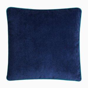 Coussin Happy Frame Bleu de Lo Decor