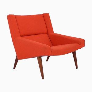 Lounge Chair by Illum Wikkelsø for Søren Willadsen Møbelfabrik, 1960s
