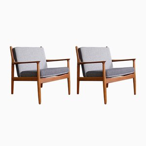 Vintage Model GM5 Armchairs from Svend Age Eriksen for Glostrup, 1963, Set of 2