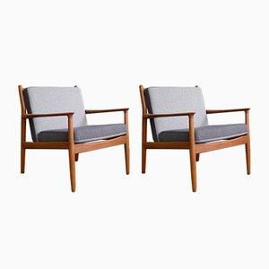 Vintage Modell GM5 Sessel von Svend Age Eriksen für Glostrup, 1963, 2er Set