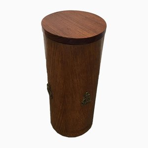 Teak Umbrella Stand or Storage Box, 1970s