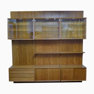Mid-Century Modular Royal System Wall Unit by Poul Cadovius for Cado