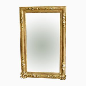 Mid-Century French Gold Mirror